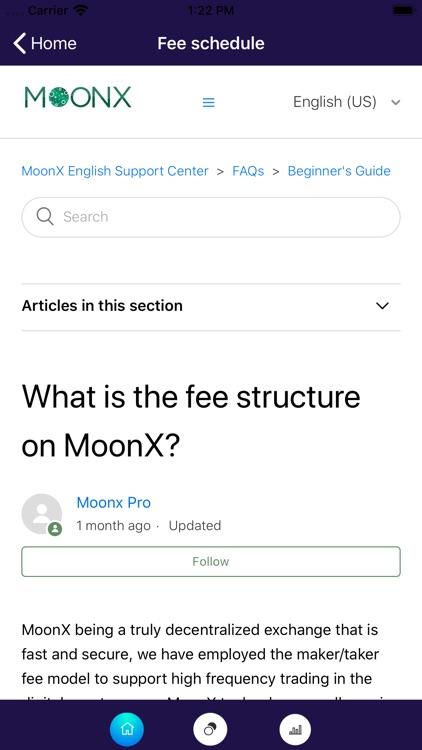 MoonX Crypto Trading Platform screenshot-9
