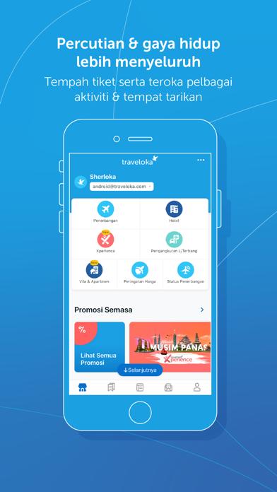 Traveloka tempah hotel & tiket - Revenue & Download