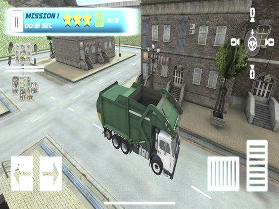 Garbage Truck Parking SIM на iPad