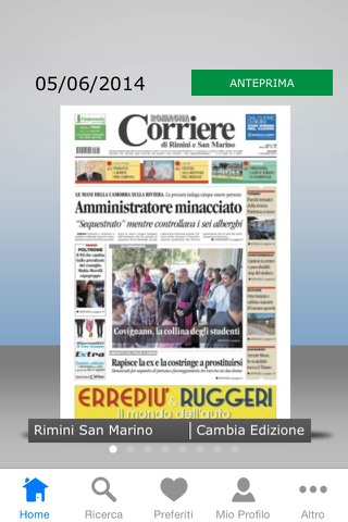 Corriere Romagna Digital - náhled
