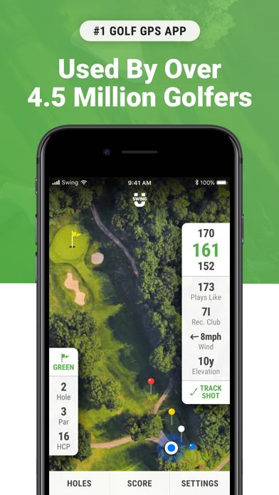 Golf GPS & Scorecard by SwingU Screenshot