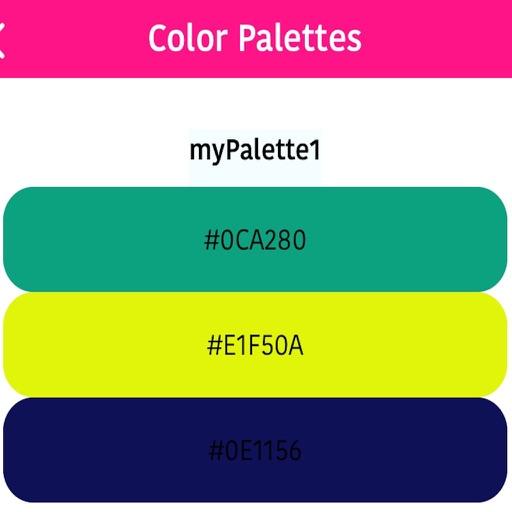 Color Palettes Maker