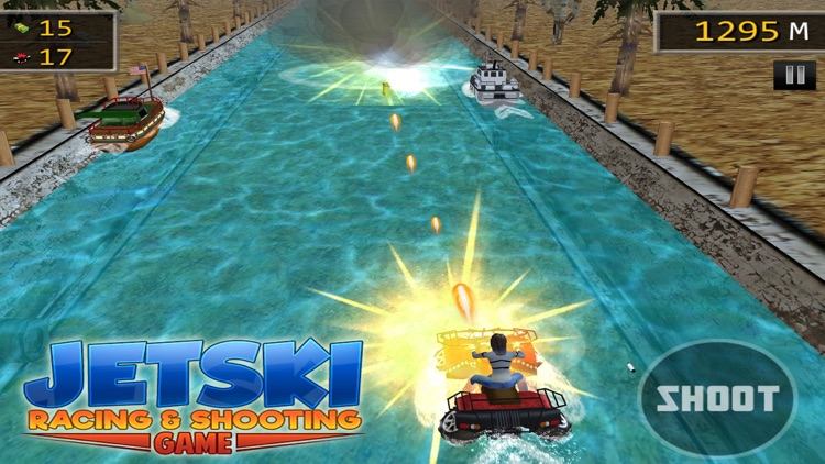 JET SKI RACING SHOOTING GAMES