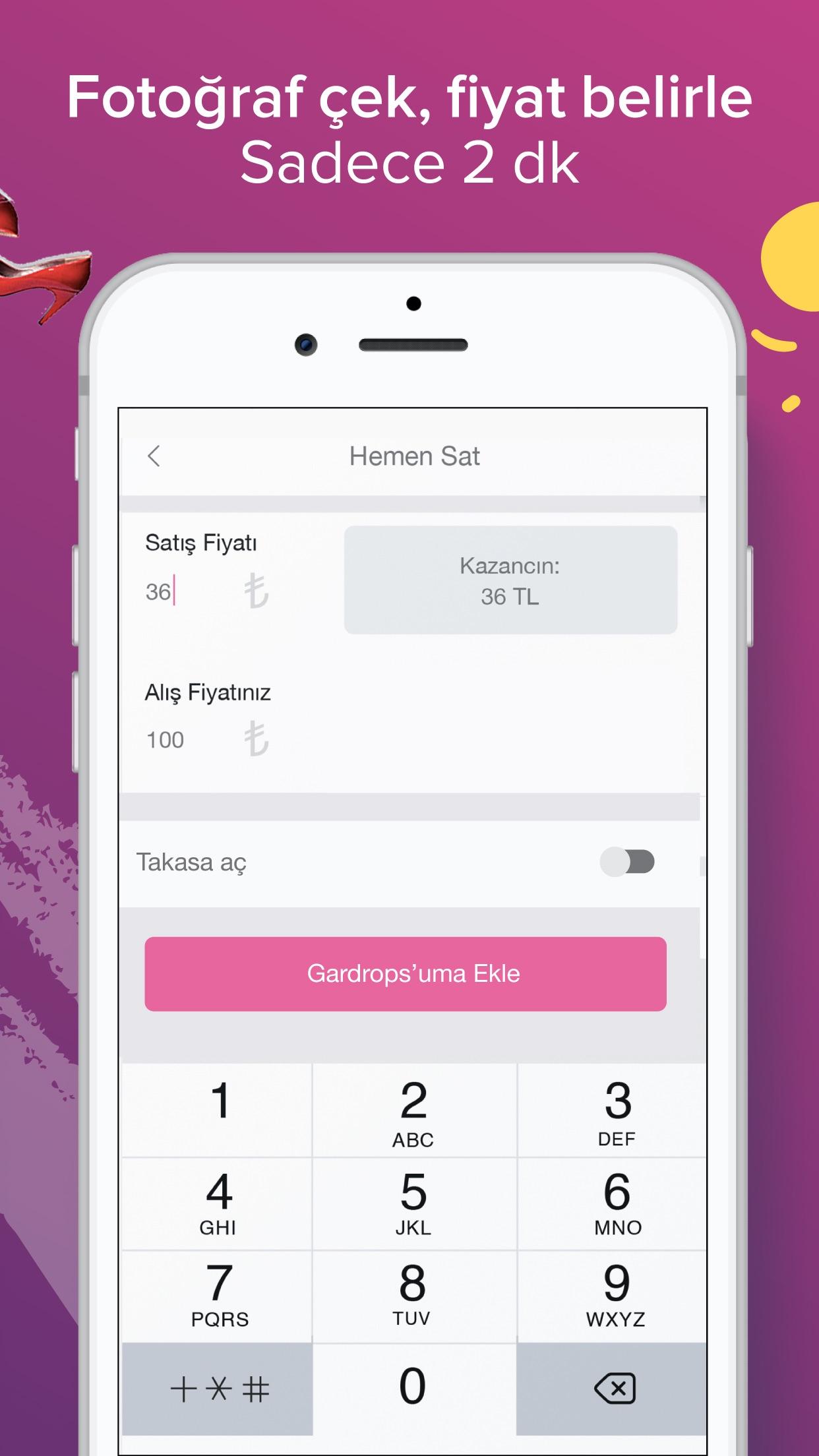 Gardrops - İkinci El Moda Screenshot