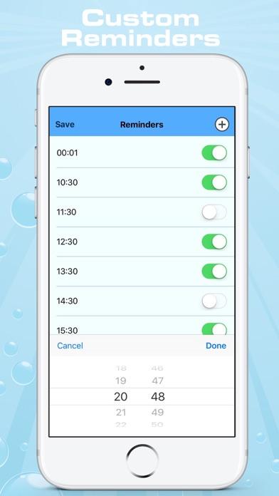 iWater - 水リマインダーのおすすめ画像4