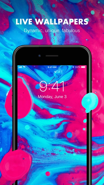 Live Wallpapers with HD Themes screenshot-3