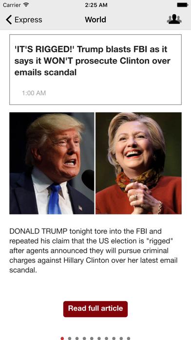 Uk Newspapers Daily News screenshot three
