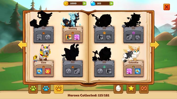 Castle Cats - Idle Hero RPG screenshot-6