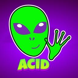 Acid Stickers: Trippy Fun