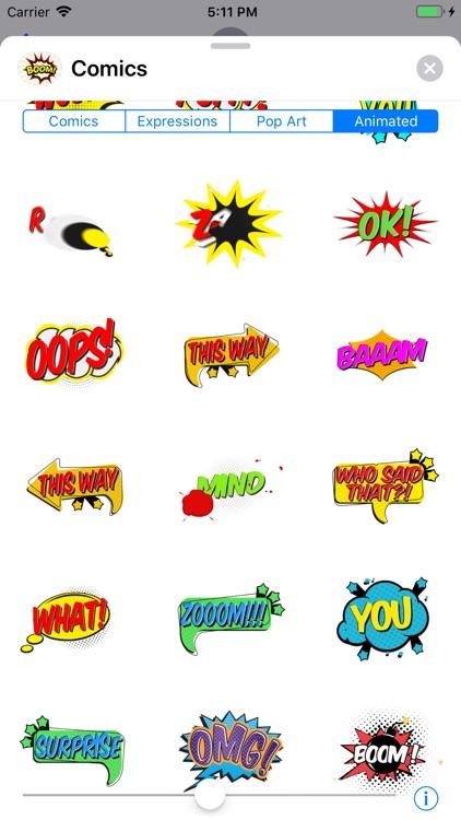 Comics Pop Art Sticker Effects screenshot-9