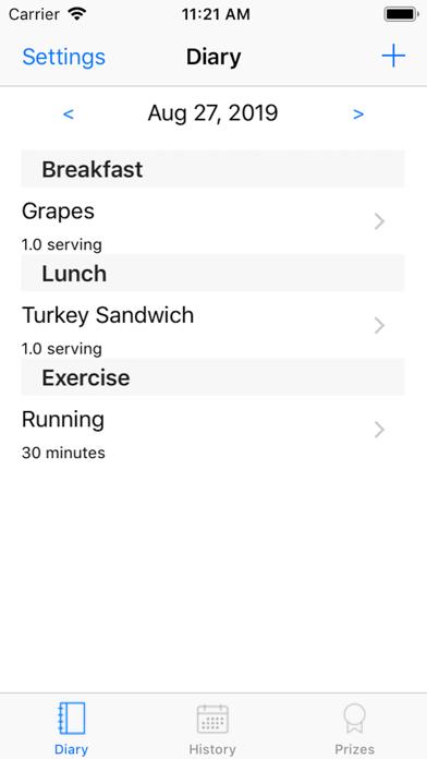 Diet Prize screenshot 1