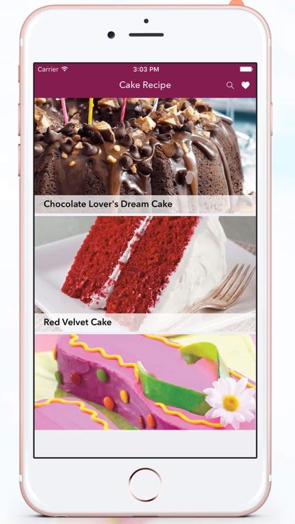 Cake Recipes..