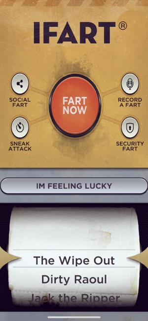 ‎iFart - Fart Sounds App Screenshot