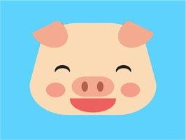 We would like to introduce Pig cute emoji face for iMessage, It is amazing collection stickers in iPhone and iPad to Chat funny with friends