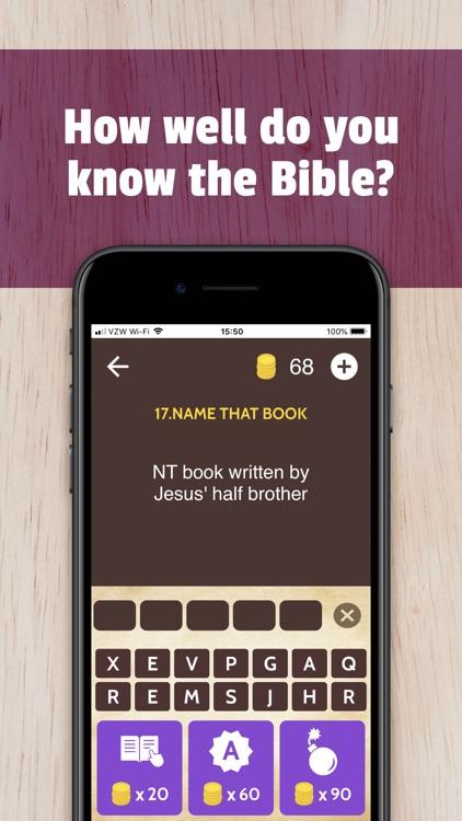 Bible Trivia App Game