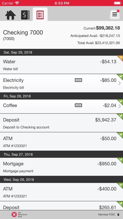 TWB Business Mobile Banking screenshot-4