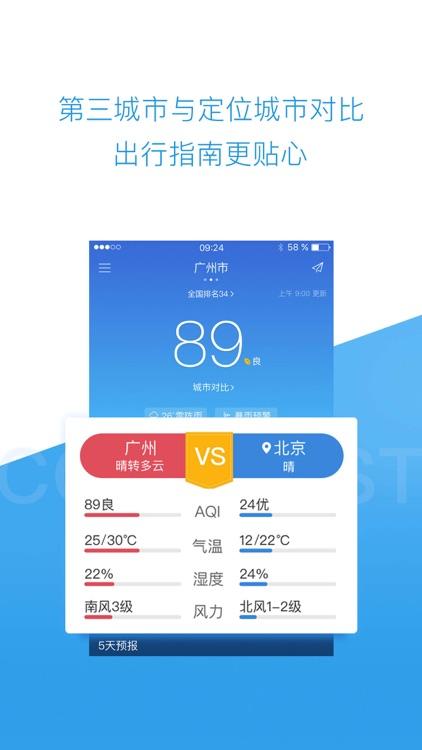 墨迹空气 - 空气果pm2.5与天气预报 screenshot-3