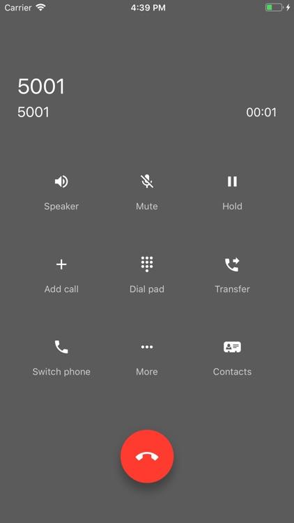 UC Softphone screenshot-7