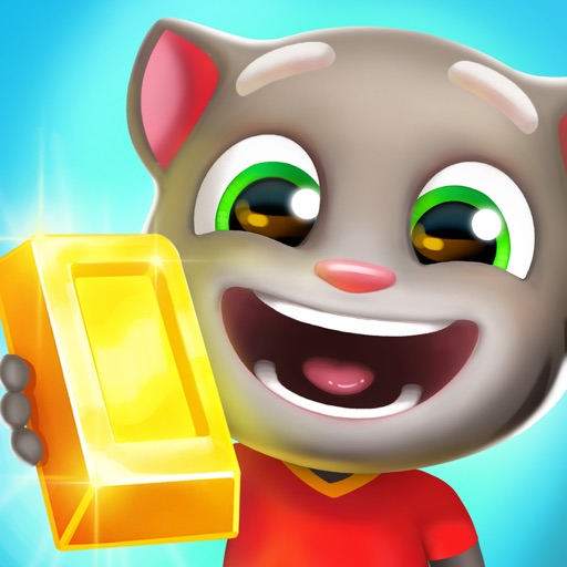 Talking Tom Gold Run iOS App