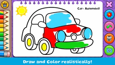 Coloring & Learn : Drawing screenshot 1