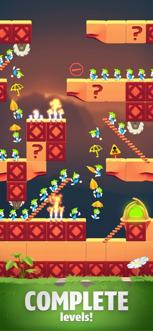 Lemmings The Puzzle Adventure On The App Store