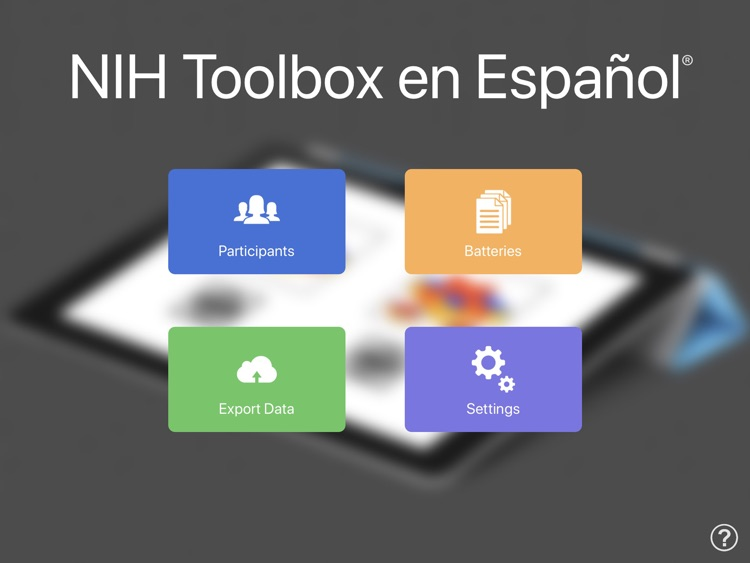 NIH Toolbox en Español screenshot-0