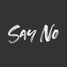 Say No Stickers