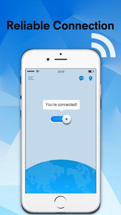 Flash VPN -Fast VPN&Wifi proxy Screenshot on iOS