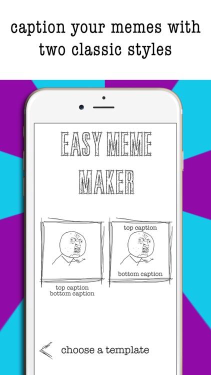 Easy Meme Maker- Funny Pics screenshot-4