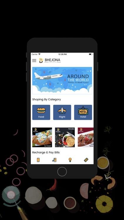 BHEJONA  Food & Flight booking