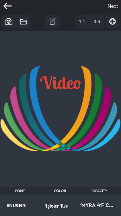 Text and Logo for Video Editor