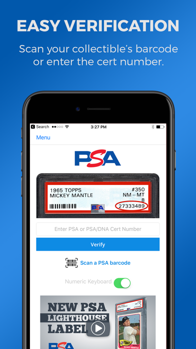 PSA Cert Verificationのおすすめ画像1