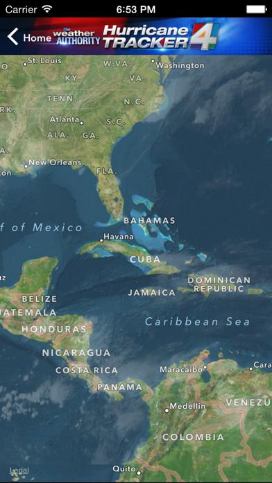 WJXT Hurricane Trackerのおすすめ画像3