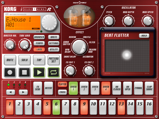 KORG iELECTRIBE for iPadのおすすめ画像4