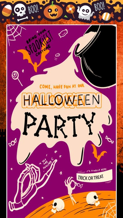 Halloween Party Greetings screenshot-4