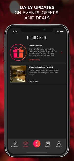 Moonshine App: Nightlife Guide on the App Store