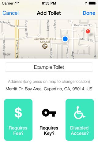 Flush Pro - Restroom Finder - náhled