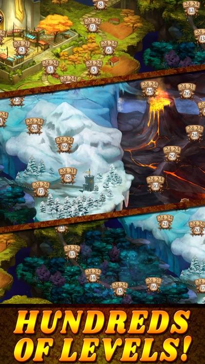 Shadow Kingdom Solitaire screenshot-3