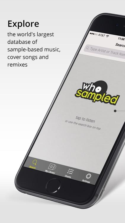 WhoSampled screenshot-0