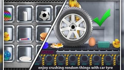 Crushing Things With Car Tyre screenshot 2