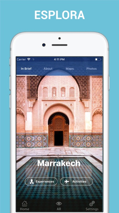 Screenshot of Marrakech Guida di Viaggio3