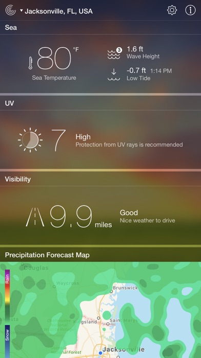 Weather Live - Local Forecast Screenshots