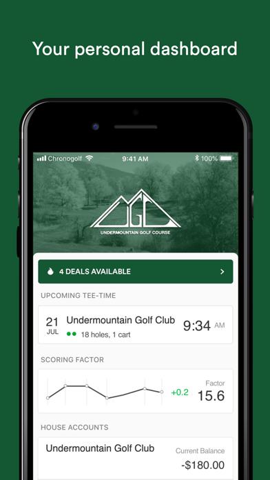点击获取Undermountain Golf Club