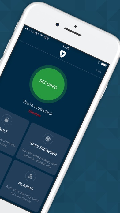 Mobile Security Protection App Screenshot