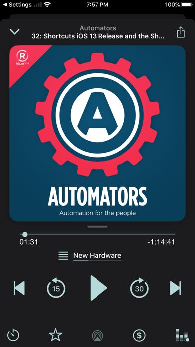 Castamatic Podcast Player screenshot four