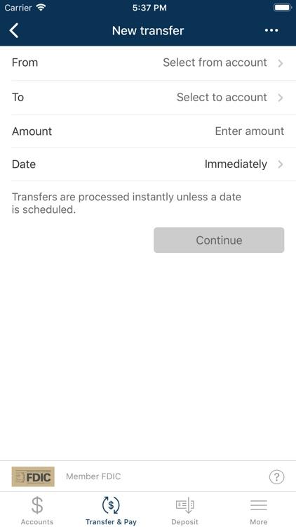 TC Federal Bank Mobile Banking screenshot-4