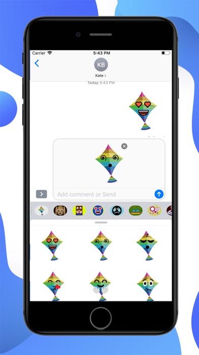Kites Emoji screenshot 2