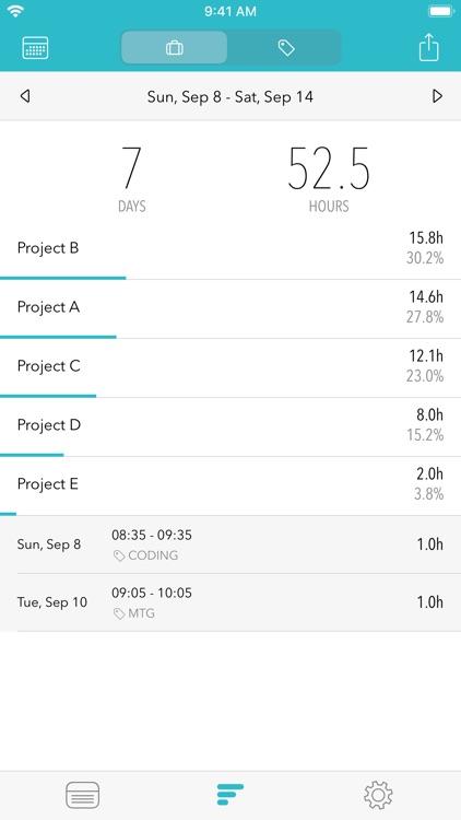 Timesheet - Time Tracker screenshot-3