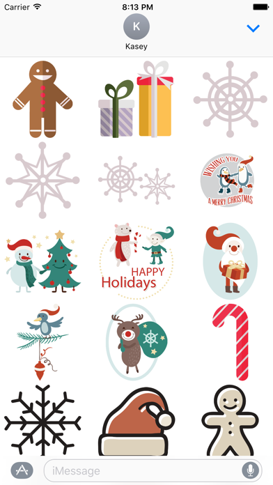 Christmas Stickers Pack screenshot one