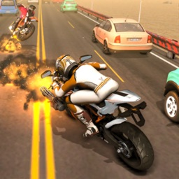 Highway Motor Bike Racing 3D